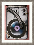 "Retro Vinyl Player - 28""W x 36""H, 220116"