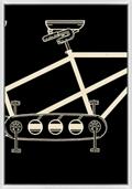 "Vintage Bike Middle - 20""W x 28.5""H, 220119"