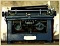 """Vintage Typewriter - 50""""W x 38""""H, 220122"""