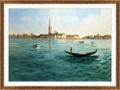 "Distant Venice - 48""W x 36""H, 220153"