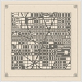 "Map City Plan - 51""W x 51""H, 220164"
