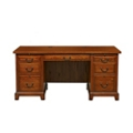 "Double Pedestal Desk - 66""W, 15502"