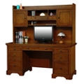 "Computer Desk with Hutch - 66""W, 14474"