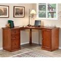 Corner Desk with Pedestal Storage, 10933