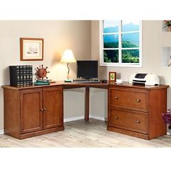 Corner Desk with Storage , 10934