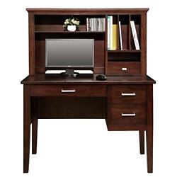"Writing Desk with Hutch - 42""W, 15383"