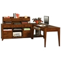 "Storage L-Desk with Shaker Feet - 86""W, 14476"