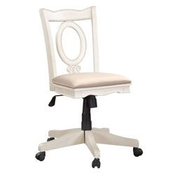 Armless Keyhole Back Office Chair, 55047