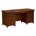 "Double Pedestal Desk 66""W x 27""D, 10397"