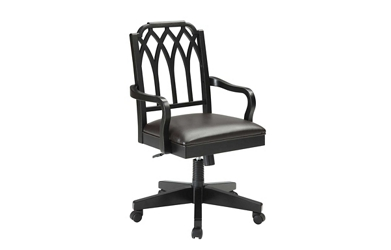 Filigree Wood Office Chair, 55640