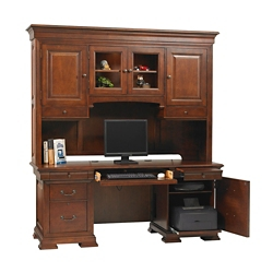 "Credenza and Hutch- 72""W, 10716"