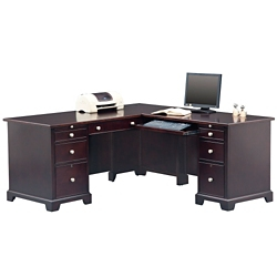 "Right L-Desk - 66""W, 10195"