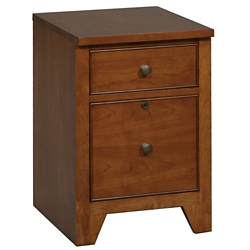 "Two Drawer File Cabinet with Shaker Feet - 16""W, 30073"