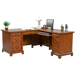 "L-Desk with Right Return - 66""W, 15767"