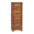 "Four Drawer Vertical File - 18.5""W, 32258"