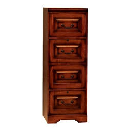 "Four Drawer Vertical File - 18.5""W, 30095"