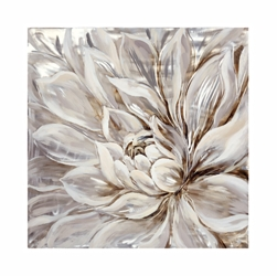 Snowy Bloom Wall Décor, 92303
