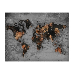 "47""W x 35""H World Highlights Wall Art, 82745"