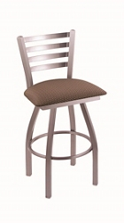 "Fabric or Vinyl Big & Tall Stool with Steel Frame - 25""H Swivel Seat, 57201"