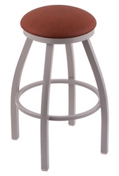 "Wood or Vinyl Stool - 36""H Swivel Seat, 57194"