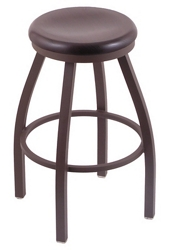 "Wood or Vinyl Stool - 30""H Swivel Seat, 57190"