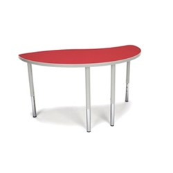 "Standard Height Group Ying Shaped Table - 54""W, 46923"