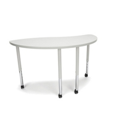 "Standard Height Mobile Group Ying Shaped Table - 54""W, 46922"