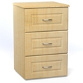 "Three Drawer Bedside Cabinet - 19""W, 26616"