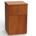 "One Drawer and One Left Door Bedside Cabinet - 19""W, 26593"