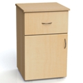 "One Drawer and One Left Door Bedside Cabinet - 19""W, 26613"