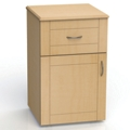"One Drawer and One Left Door Bedside Cabinet - 19""W, 26597"