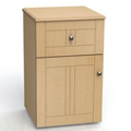"One Drawer and One Left Door Bedside Cabinet - 19""W, 26609"