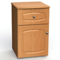 "One Drawer and One Left Door Bedside Cabinet - 19""W, 26601"