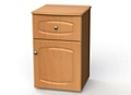 "One Drawer and One Right Door Bedside Cabinet - 19""W, 26602"