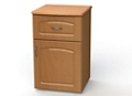 "One Drawer and One Right Door Bedside Cabinet - 19""W, 26606"
