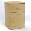 "One Drawer and One Left Door Bedside Cabinet - 19""W, 26617"