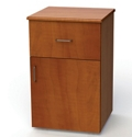 "One Drawer and One Right Door Bedside Cabinet - 19""W, 26594"
