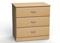 "Three Drawer Dresser - 32""W, 26588"