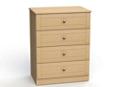 """Four Drawer Dresser - 32""""W, 26587"""
