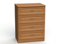 "Four Drawer Dresser - 32""W, 26583"