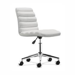 Armless Modern Mid Back Task Chair, 52358