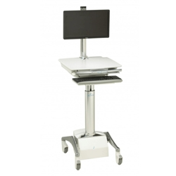 Powered LCD Cart with LiFe Battery, 60981