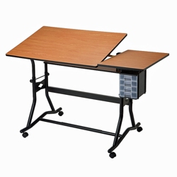 Adjustable Height Split Top Drafting Table, 70196