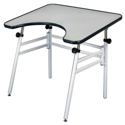 Wheelchair Accessible Drafting Table with Adjustable Height, 70201