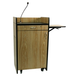 Podium with Wireless Sound and Mic, 43329