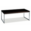 "Wood Veneer Coffee Table - 44"" x 22"", 75196"