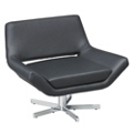 "Yield Swivel Lounge Chair - 40"" Wide, 75427"