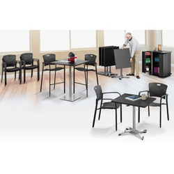 Break Room Table and Chair Set, 41845
