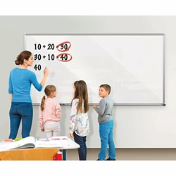 Glass Dry Erase Board 4' x 3', 80724