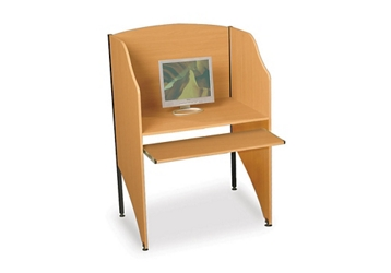 Laminate Study Carrel, 60099